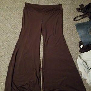 Pants - Silky palazzo pants